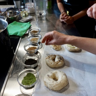 Seasoning Bagels