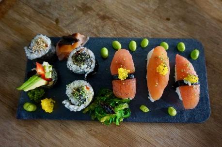 Vegan Sushi Plate