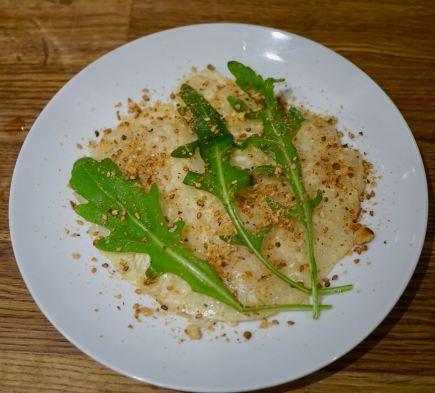 Celeriac And Smoked Pear Carpaccio
