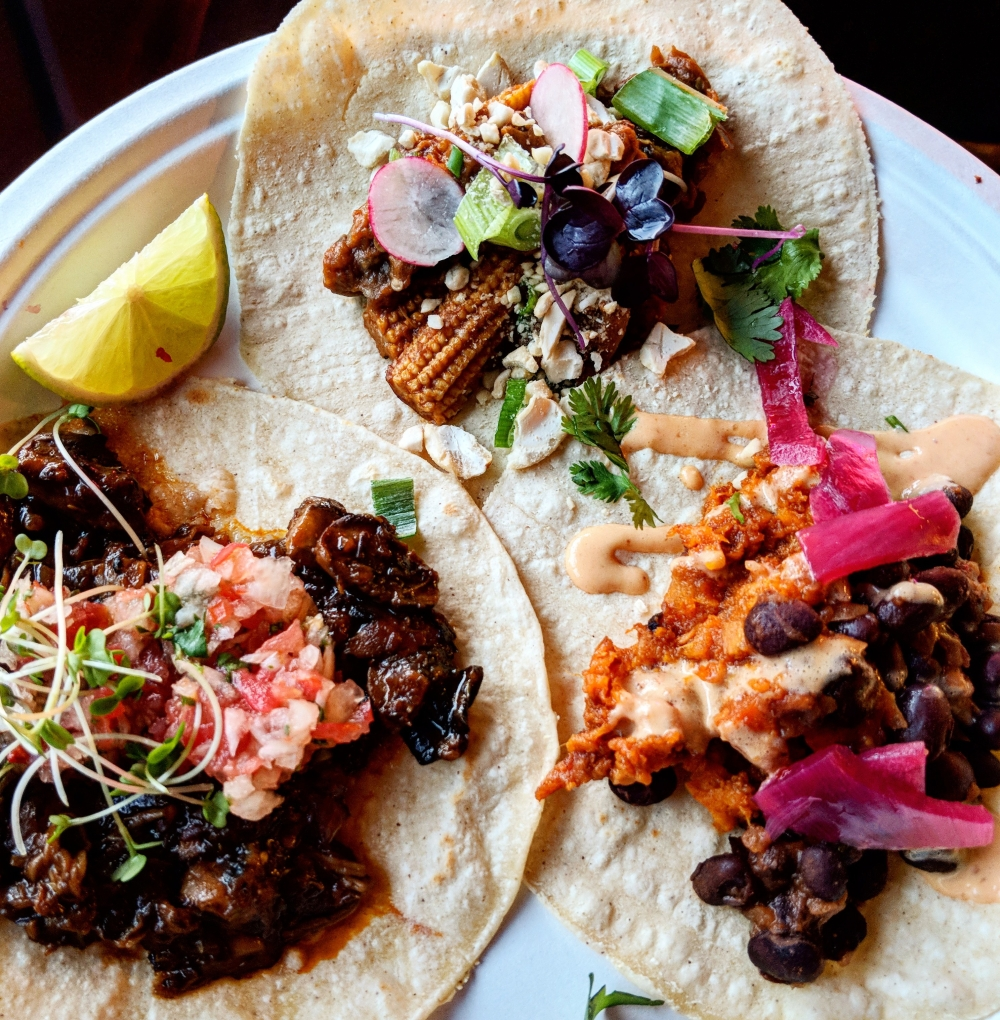 Jump To The Beet Taco Plate