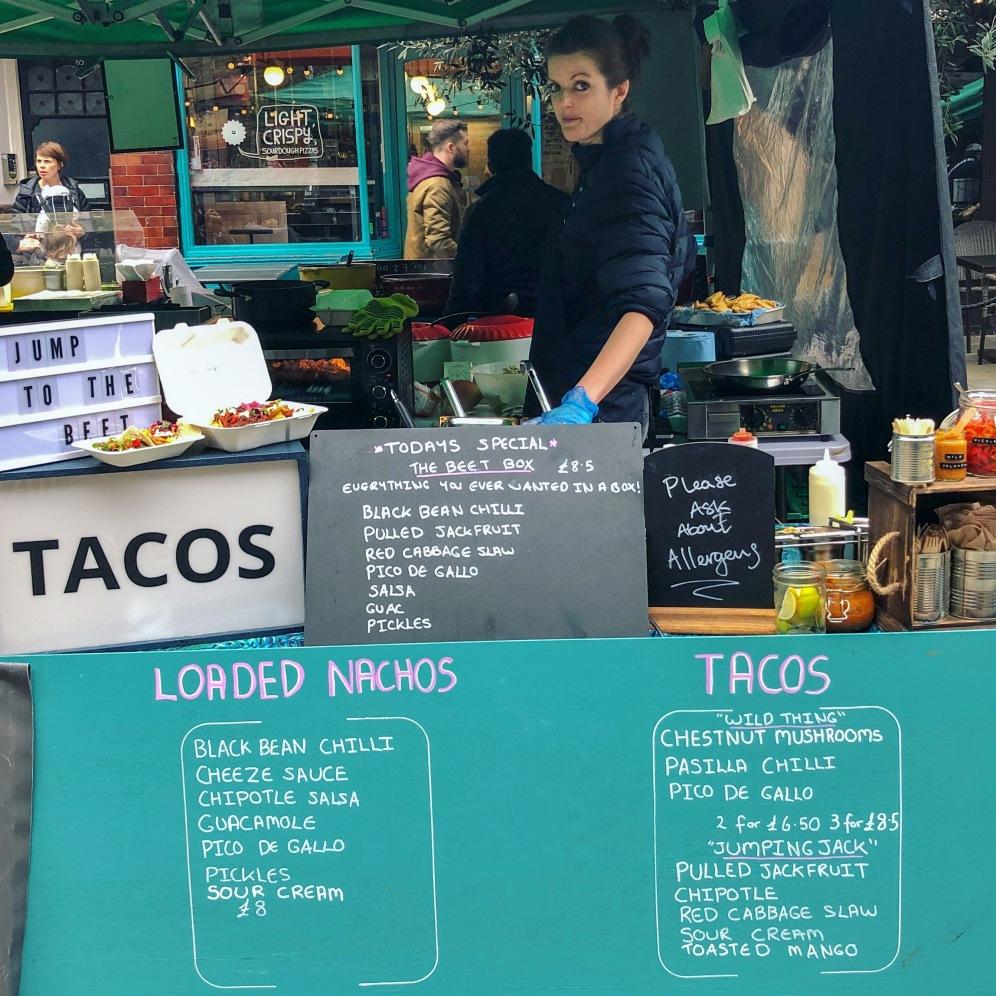 Jump To The Beet - Food Stall @Venn Street Market, Clapham
